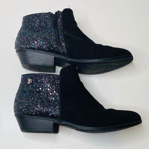 Sam Edelman Petty Sequin Ankle Booties